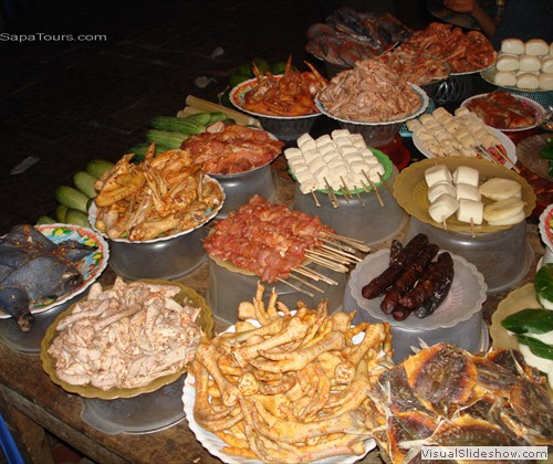 food-chicken-restaurant-sapa-night-market