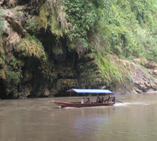 Boat trip on ChayRiver